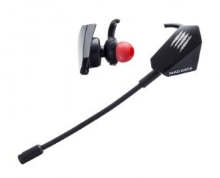 Verbatim Audífonos Gamer Pro+ Mad CATZ E.S., Alámbrico, 3.5mm, Negro