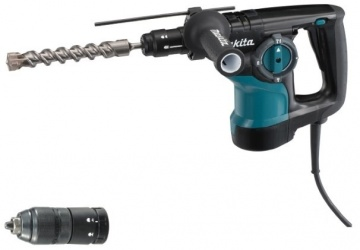 Makita Rotomartillo Combinado HR2810T, 1-1/8'', 800W