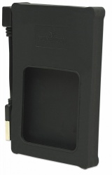 Manhattan Gabinete de Disco Duro 130103 para 2.5'', SATA, USB 2.0, Negro
