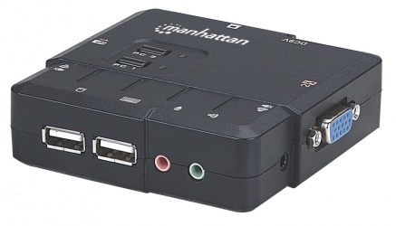 Manhattan Switch KVM 151252, 2x USB, 2x VGA
