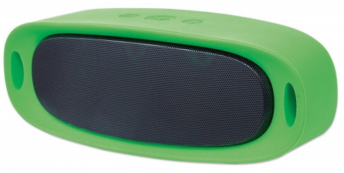 Manhattan Bocina Portátil Sound Science Orbit, Bluetooth 2.1, Inalámbrico, Micro-USB/USB A, Verde