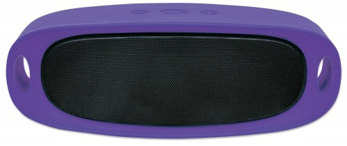 Manhattan Bocina Portátil Sound Science Orbit, Bluetooth 2.1, Inalámbrico, Micro-USB/USB A, Morado