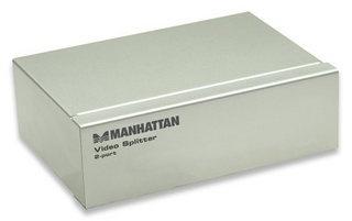 Manhattan Video Splitter 177207, 2 Salidas VGA
