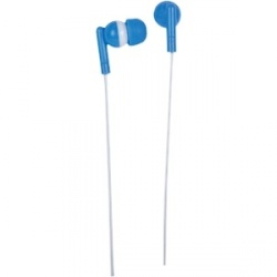 Manhattan Audífonos Color Accents Azure Sky, Alámbrico, 1.2 Metros, Azul/Blanco
