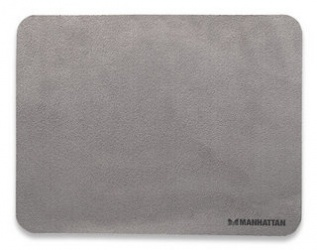 Mousepad Manhattan Multipropósitos 3 en 1 de Microfibra, 22x17cm, Grosor 1mm, Gris Obscuro