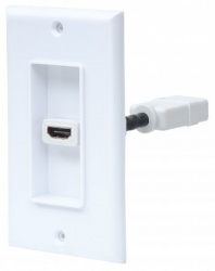 Manhattan Placa para Pared, HDMI 1 Salida, Blanco