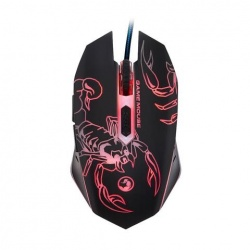 Mouse Gamer Marvo Óptico Escorpión, Alámbrico, USB, 2400DPI, Negro