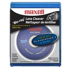 Maxell Limpiador de Blu-ray 190054, para X-Box y Playstation