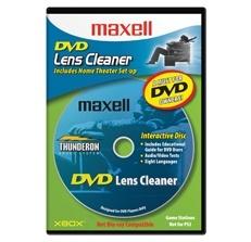 Maxell Limpiador para Reproductores DVD 190059, 1 Pieza