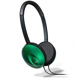 Maxell Audífonos UltraThins, Alámbrico, Verde
