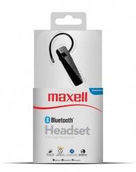 Maxell Manos Libres MXH-HS02, Bluetooth, Inalámbrico, Negro
