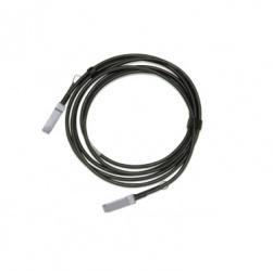 Mellanox Cable QSFP28 Macho - QSFP28 Macho, 2 Metros, Negro