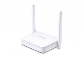 Router Mercusys Ethernet MW301R, Inalámbrico, 300 Mbit/s, 2.40GHz, 2 Antenas Externas de 5dBi