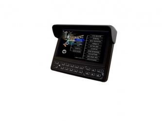Meriva Technology Monitor CCTV LCD 7'', Negro