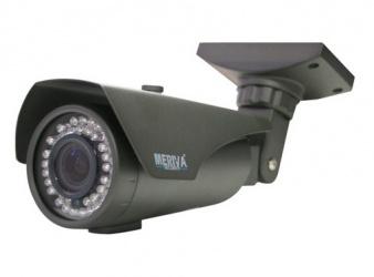Meriva Security Cámara Bullet IR para Interiores/Exteriores MHD-208, Alámbrico, 1305 x 1049 Pixeles, Día/Noche