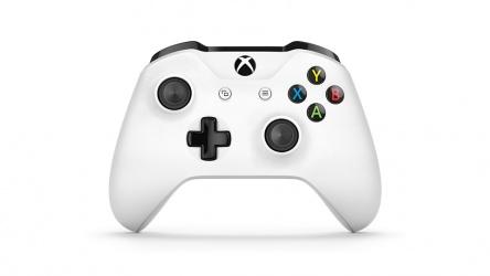 Microsoft Gamepad/Control para Xbox One y PC, RF Inalámbrico, Blanco