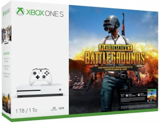 Microsoft Xbox One S, 1TB, Bluetooth, Blanco - incluye Playerunknown's Battlegrounds