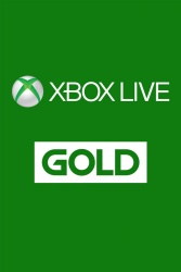 Xbox Live Gold Membership, 1 Mes ― Producto Digital Descargable