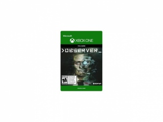 Observer, Xbox One ― Producto Digital Descargable