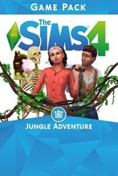 The SIMS 4: Jungle Adventure, DLC, Xbox One ― Producto Digital Descargable