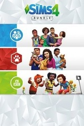 The Sims 4 Bundle: Cats & Dogs, Parenthood, Toddler Stuff, 3 DLC, Xbox One ― Producto Digital Descargable