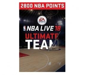 NBA LIVE 18 Ultimate Team, 2800 Puntos, Xbox One ― Producto Digital Descargable