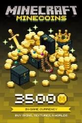 Minecraft: Minecoins Pack, 3500 Monedas, Xbox One ― Producto Digital Descargable