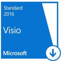 Microsoft Visio Standard 2016, 1 PC, Plurilingüe, para Windows ― Producto Digital Descargable