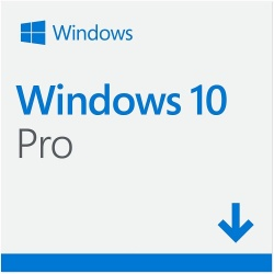 Microsoft Windows 10 Pro, 32/64-bit, 1 PC, Plurilingüe (FPP) ― Producto Digital Descargable
