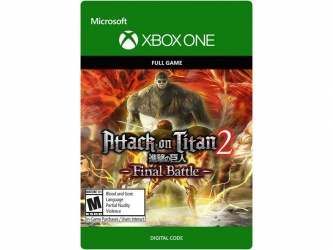 Attack on Titan 2: Final Battle, Xbox One ― Producto Digital Descargable