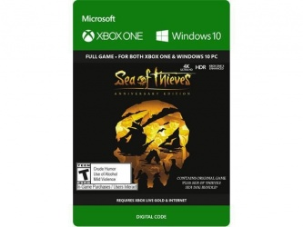 Sea of Thieves: Anniversary Edition, Xbox One ― Producto Digital Descargable