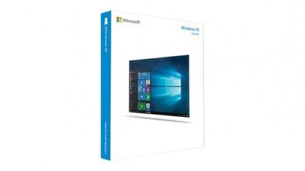 Microsofy Windows 10 Home Español, 64-bit, 1 Licencia, Físico (FPP)