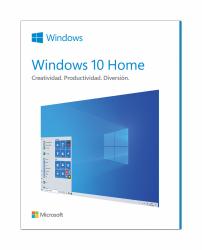 Microsoft Windows 10 Home Español, 64-bit, 1 Licencia, Físico (FPP)