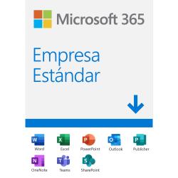 Microsoft 365 Empresa Estándar, 64-bit, 1 Usuario, 5 Dispositivos, Plurilingüe, Windows/Mac ― Producto Digital Descargable ― ¡Obtén un descuento exclusivo al comprarlo con un equipo de cómputo seleccionado!