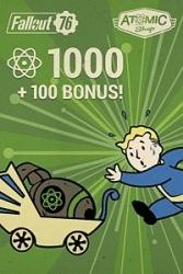 Fallout 76: 1000 Atoms + 100 Bonus Atoms, Xbox One ― Producto Digital Descargable