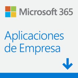 Microsoft 365 Aplicaciones de Empresa, 1 Usuario, 5 Dispositivos, Plurilingüe, Windows/Mac/Android/iOS ― Producto Digital Descargable