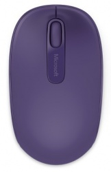 Microsoft Wireless Mobile Mouse 1850, Inalámbrico, USB, 1000DPI, Morado
