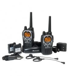 Midland Radios Portátiles de 2 Vías GXT1000VP4, 50 Canales, Negro