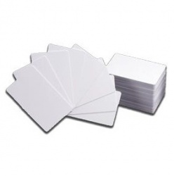 EasyWay Proximity Tarjeta sin Tecnología, CR80, Blanco, Paquete de 100 Piezas