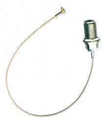 MikroTik Cable de Antena MMCX Pigtail - N, 36cm, Aluminio