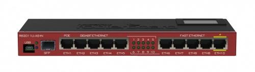 Router Mikrotik Gigabit Ethernet RB2011UIAS-IN, Alámbrico, 10x RJ-45