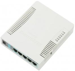 Router MikroTik Ethernet RB951G-2HnD, Inalámbrico, 5x RJ-45, 2.4GHz, Antena Interna 2.5dBi