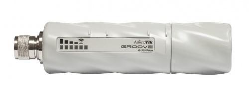 Access Point MikroTik de Banda Dual Groove 52 ac, 1x RJ-45, 2.4/5GHz