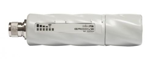 Access Point MikroTik GrooveA 52 ac, 1x RJ-45, 2.4/5GHz, Antena de 6dBi