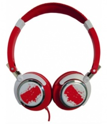 Misik Audífonos ENCORE H200, Alámbrico, 1.5 Metros, 3.5mm, Rojo