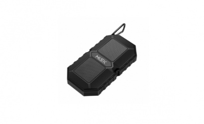 Misik Bocina Portátil MS230, Bluetooth, Alámbrico/Inalámbrico, USB, Negro - Resistente al Agua