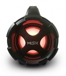Misik Bocina Portátil MS255, Bluetooth, Inalámbrico, USB, Gris