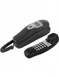 Misik Teléfono Alámbrico MT880, DECT, Negro/Plata