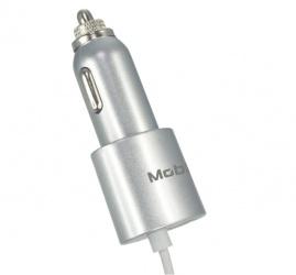 Mobifree Cargador para Auto MB-914413, 5V, 1 Puertos USB, Gris