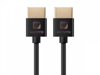 Monoprice Cable HDMI Macho - HDMI Macho, 1.2 Metros, Negro